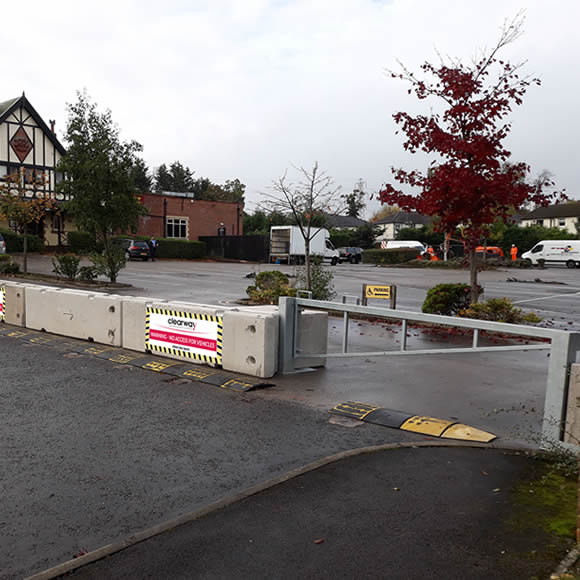 Concrete Barriers And Block Perimeter Security